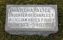 Martha Alice Fisher