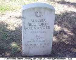 Major Bluford Alexander