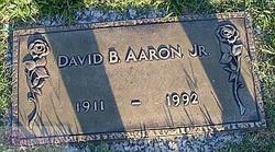 David B Aaron, Jr