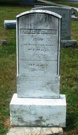 Lieut Thomas R. Edmunds