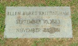 Ellen <i>Burks</i> Brittingham
