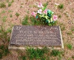 Polly H. <i>Hicks</i> Brown