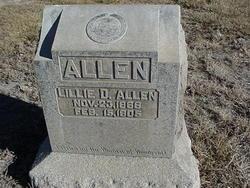 Lillie D. Allen