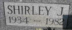 Shirley Jean <i>Porter</i> Curtis