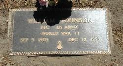 PFC William Johnson