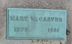 Mary <i>Mitchell</i> Carver