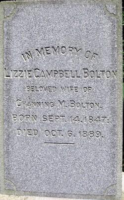Elizabeth Calhoun Lizzie <i>Campbell</i> Bolton
