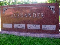 J. Don Alexander