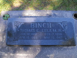 Thomas Edward Binch