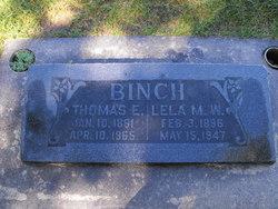 Lela Martha <i>Wagstaff</i> Binch