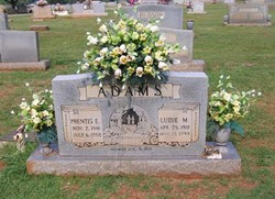 Ludie May <i>Romine</i> Adams
