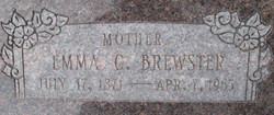 Emma Goss <i>Carter</i> Brewster