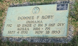 PFC Donnie F Roby