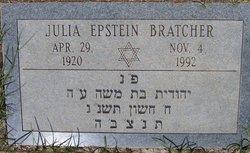 Julia <i>Epstein</i> Bratcher
