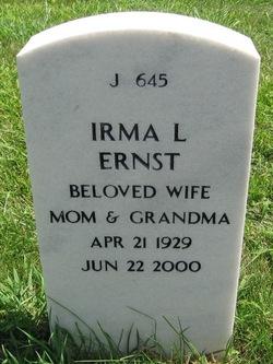 Irma L Ernst