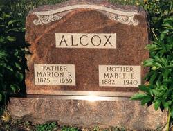 Marion Rawleigh Rollie <i>Allcock</i> Alcox