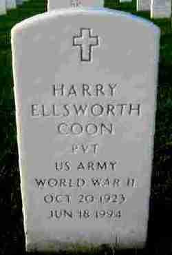 Harry Ellsworth Coon
