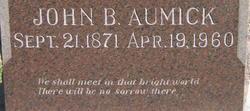 John Burney Aumick