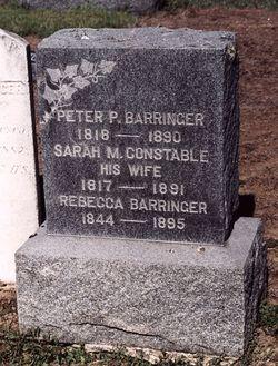 Sarah M. <i>Constable</i> Barringer