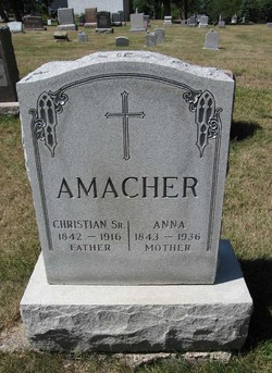 Christian Amacher, Sr