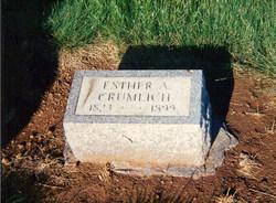 Esther Ann <i>Bell</i> Crumlich