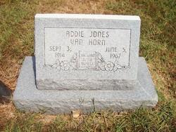 Addie Carolin Jones <i>Hargis</i> Van Horn