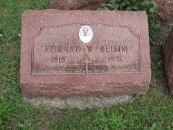 Edward W. Blimm
