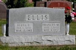 Frances Mary <i>Craver</i> Ellis