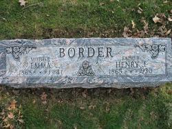 Emma Mary <i>Edwards</i> Border