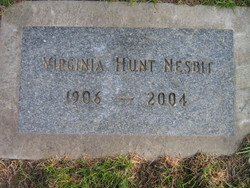 Virginia H. <i>Hunt</i> Nesbit