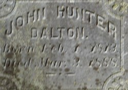 John Hunter Dalton