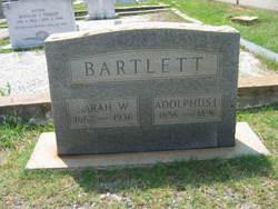 Adolphus Lamar Bartlett