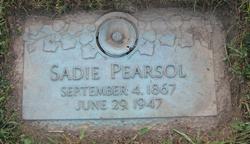Sadie <i>Cauthery</i> Pearsol