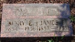 Mary E <i>Evans</i> Hazlitt