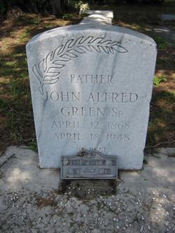 John Alfred Green, Sr