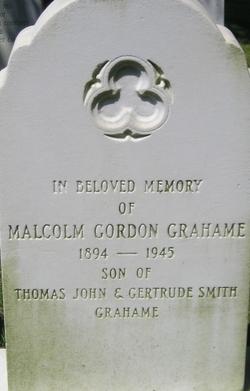 Malcolm Gordon Grahame