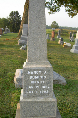 Nancy Jane <i>Bumpus</i> Beattie Fast