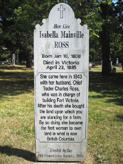 Isabella <i>Mainville</i> Ross