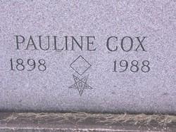 Pauline <i>Cox</i> Marshall