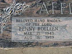 Penny Rolleen <i>Morgan</i> Affleck