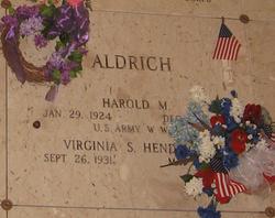 Virginia Sue <i>Hendrick</i> Aldrich
