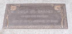 Lola M Barnes