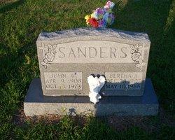 Bertha A <i>Golden</i> Sanders