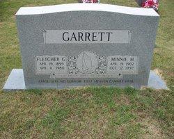 Minnie Maggie Lee <i>Traffensted</i> Garrett