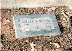 Eulala Bell Dude <i>Moore</i> Blanke