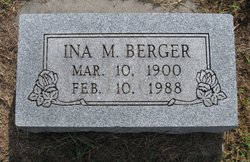 Ina Merrior <i>Hicks</i> Berger