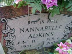 Nannabelle <i>Phillips</i> Adkins