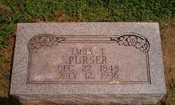 Emily T Purser