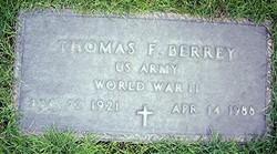 Thomas F Berrey