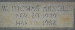 Willie Thomas Arnold